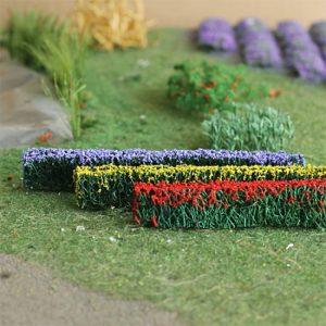 Scenics Flowers/Bushes/Plants HO